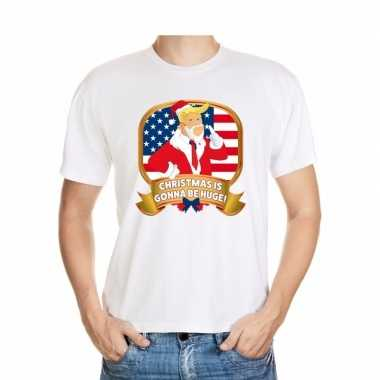 Foute president trump shirt wit christmas is gonna be huge voor manne