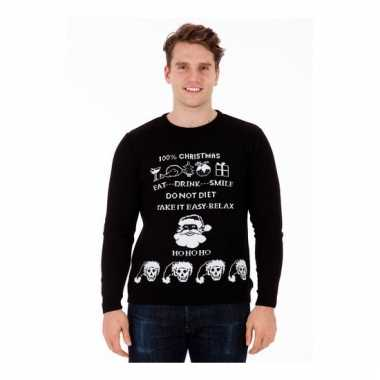 Heren Kersttrui Kopen.Kersttrui Evil Christmas Voor Mannen Kersttruien Kopen Nl