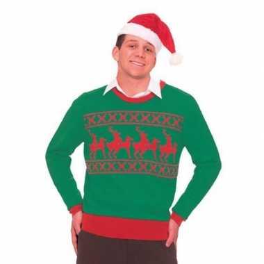 Kersttrui met rendieren