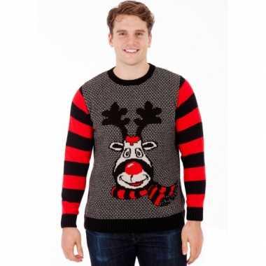 Heren Kersttrui Kopen.Kersttrui Rudy Reindeer Voor Mannen Kersttruien Kopen Nl