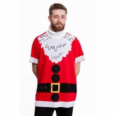 Heren Kersttrui Kopen.Poncho Kerstman Voor Heren Kersttruien Kopen Nl