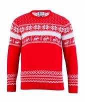 Kersttrui the red nordic voor vrouwen